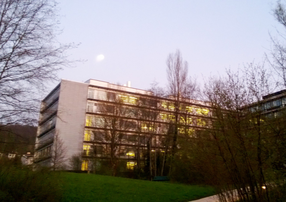 INI's Building on the Irchel campus